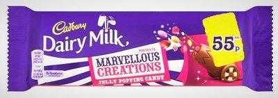 Cadbury Dairy Milk Marvellous Creations Jelly Popping Candy - (UK)