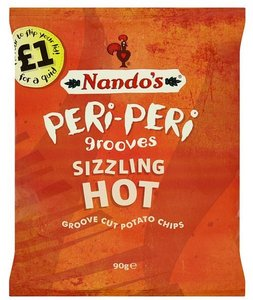 Nando's Peri-Peri Grooves Hot - (UK)