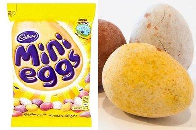 Cadbury Mini Eggs - (UK)