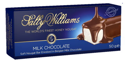 Sally Williams Milk Chocolate Coated Nougat