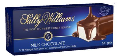 Sally Williams Milk Chocolate Coated Nougat