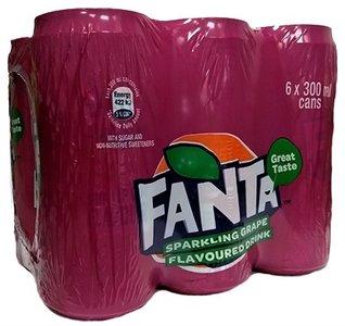 Fanta Grape 6 Pack