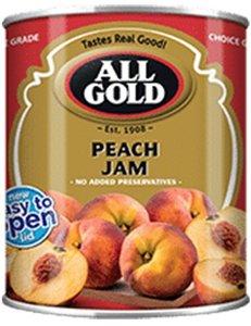 All Gold Smooth Peach Jam