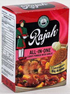 Rajah All-In-One Curry Powder with Garlic