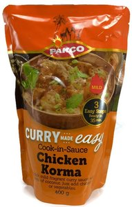 Pakco Curry Cook-in-Sauce Chicken Korma