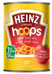 Heinz Hoops in tomato sauce - (UK)