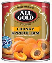All Gold Chunky Apricot Jam