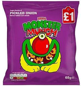 Walkers Monster Munch Pickled Onions - (UK)