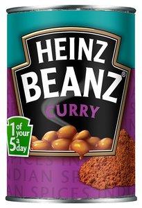 Heinz Curry Beanz - (UK)