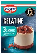 Dr. Oetker Gelatine - (UK)